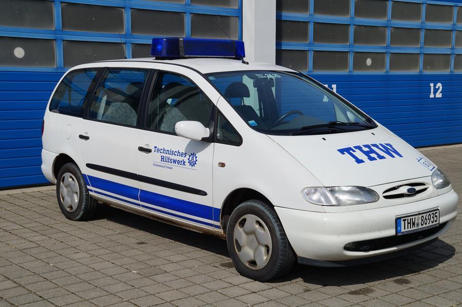 THW OV Freisen: Personenkraftwagen (PKW)